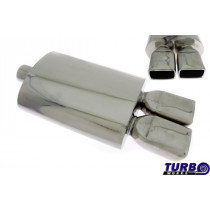 Sport kipufogó dob TurboWorks 43 2,5